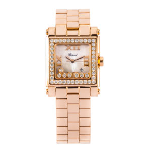 Chopard Happy Sport 18kt Rose Gold w/White MOP Dial - 275322-5002 Dial