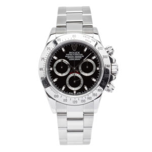 Rolex Daytona Chronograph Stainless Steel 40mm w/Black Dial - 116520 Dial