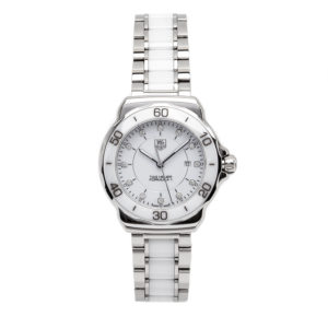 TAG Heuer Formula 1 Lady White Ceramic w/Diamond Hour Markers - WAH1315 Dial