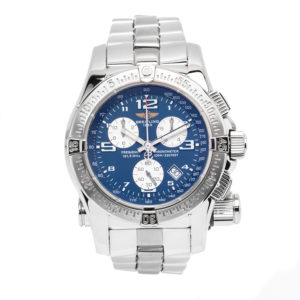 Breitling Emergency Mission Stainless Steel Blue Dial - A7332111/C598 Dial