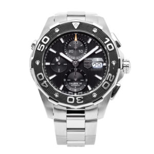 TAG Heuer Aquaracer Stainless Steel 44mm w/Black Chronograph Dial - CAJ2110 Dial